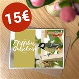 Pfiffikus Geschenkgutschein 15 €