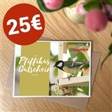 Pfiffikus Geschenkgutschein 25 €