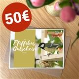 Pfiffikus Geschenkgutschein 50 €